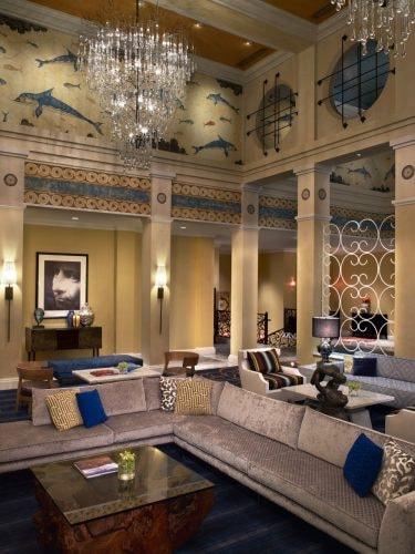 Kimpton Hotel Monaco Seattle - Lobby   Photo Credit, David Phelps