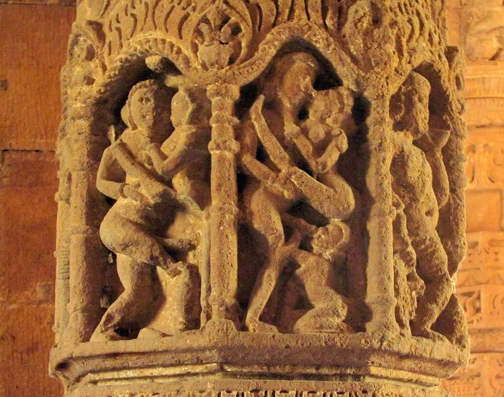 https://commons.wikimedia.org/wiki/File:Modhera_Sun_Temple_Erotica.jpg
