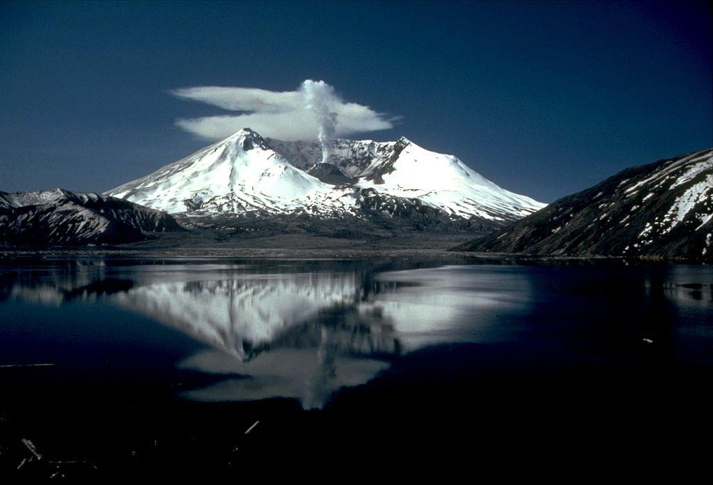 Mt. St. Helens After 1980 Eruption | Courtesy of United States Geological Survey
