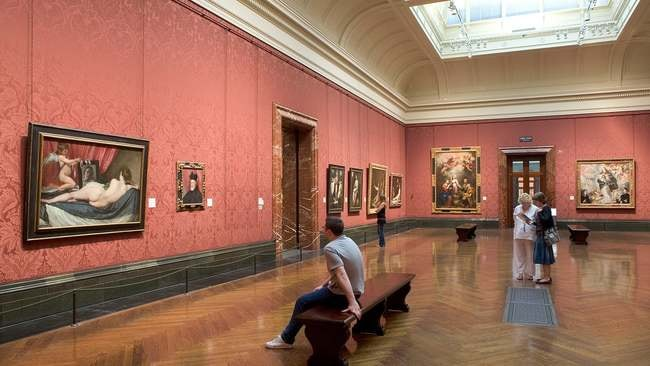 Diego Velázquez's 'The Toilet of Venus' in Room 30 | © The National Gallery, London