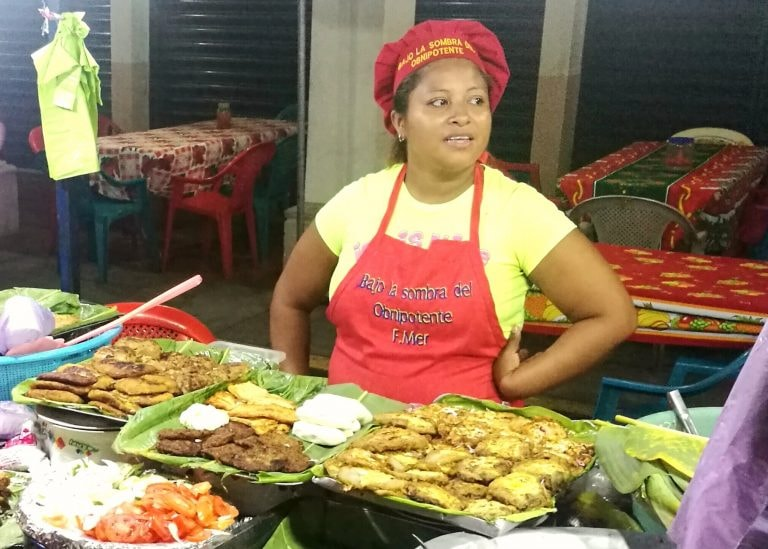 Image result for people eating in nicaragua