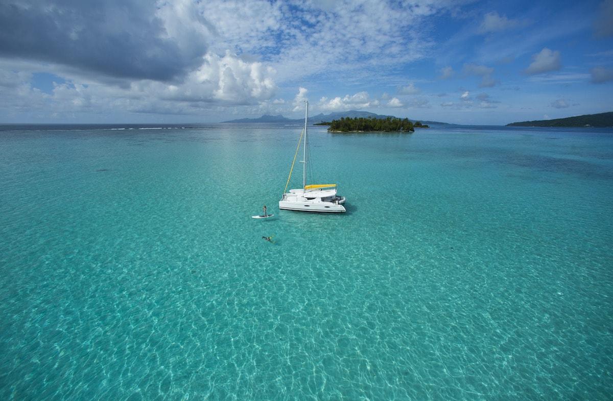 Tahiti Yacht Charter, Taha'a | © Tahiti Tourisme