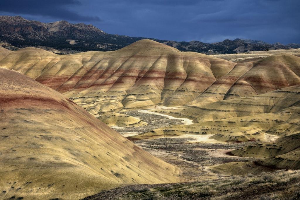 Painted Hills | © John Fowler / Flickr