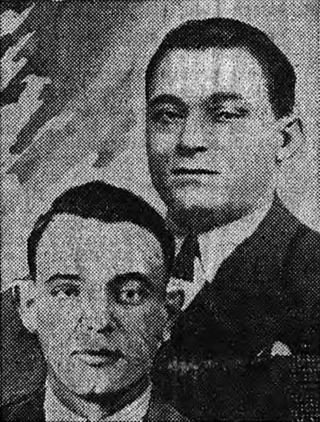 Paul Carbone & Francois Spirito, leaders of the 'French Connection' | © Le Matin/WikiCommons