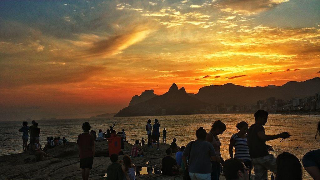 Sunset at Arpoador   © Deniltonlima/WikiCommons