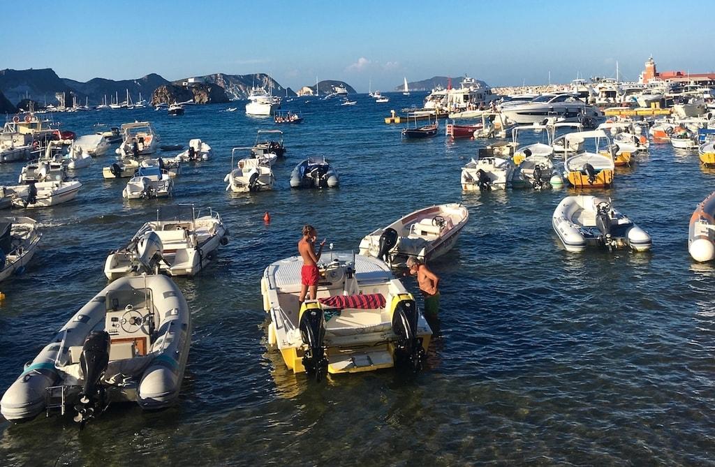 Ponza Boats - Gillian Longworth McGuire
