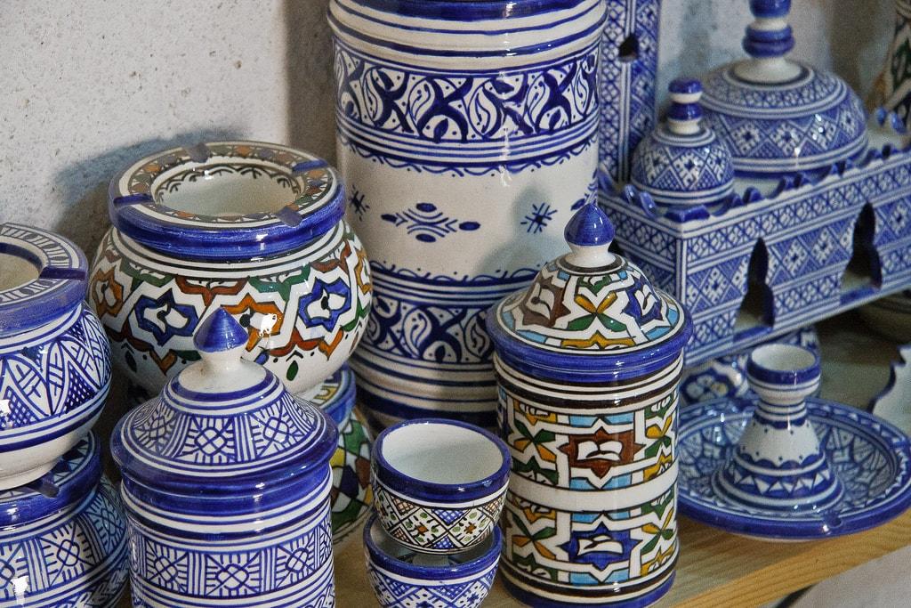 Fez pottery