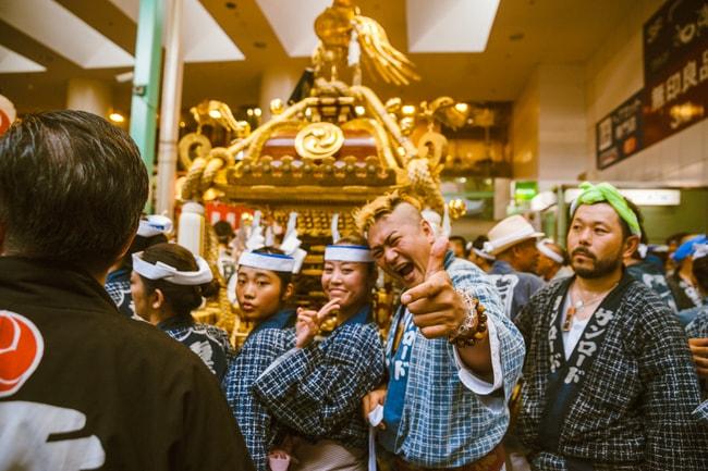 Smiles all around at Kichijoji Festival   Mithila Jariwala / © Culture Trip