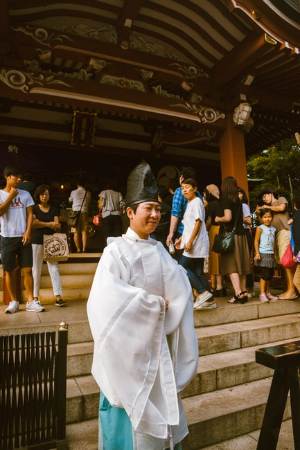Shinto Priest at Kichijoji Festival   Mithila Jariwala / © Culture Trip