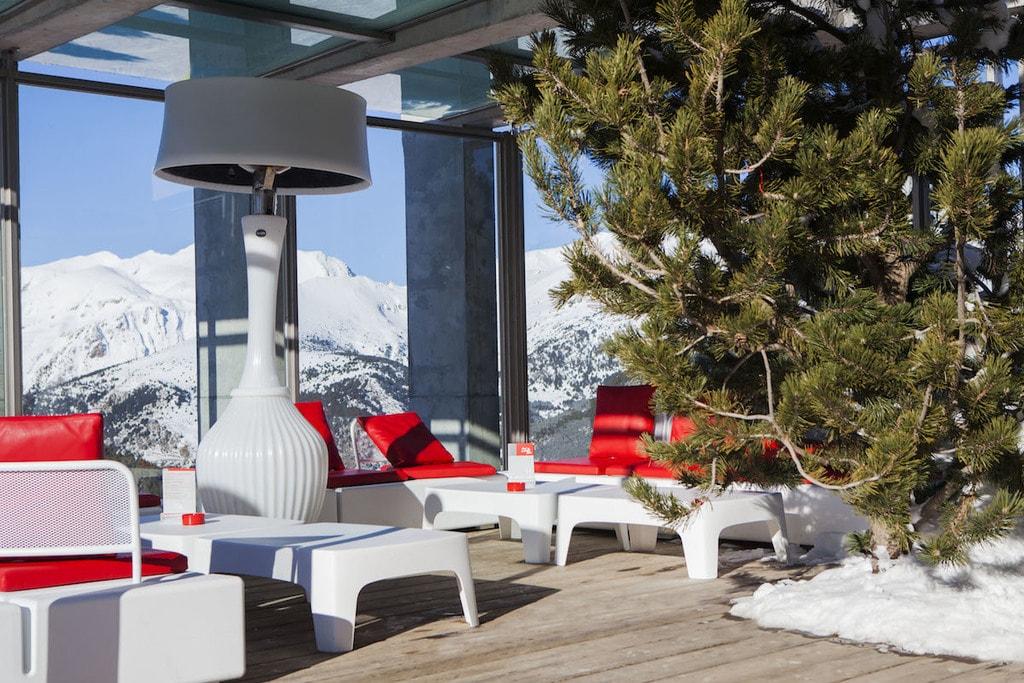 Red Chillout, El Tarter, Andorra   ©Grandvalira