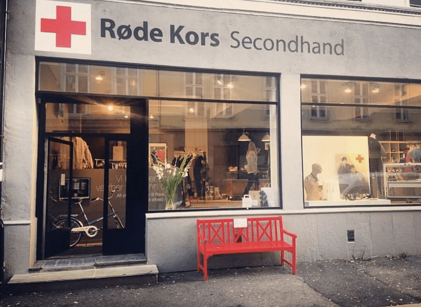 Røde Kors Secondhand, Courtesy of Røde Kors