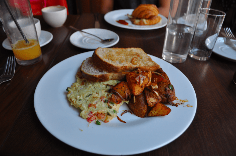 Breakfast at Java House