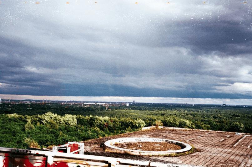 The sky over Berlin   Courtesy of Adam Lempel