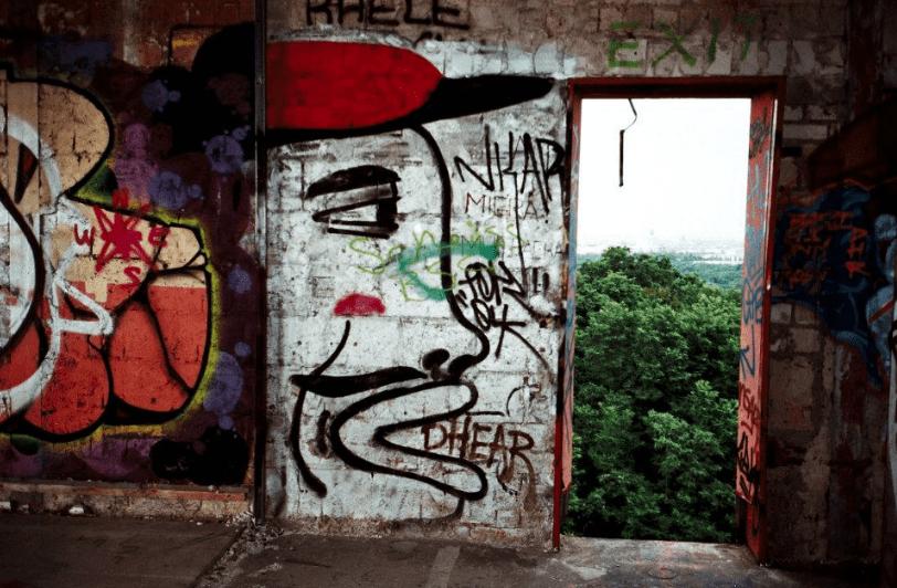 Berlin's street art   Courtesy of Adam Lempel