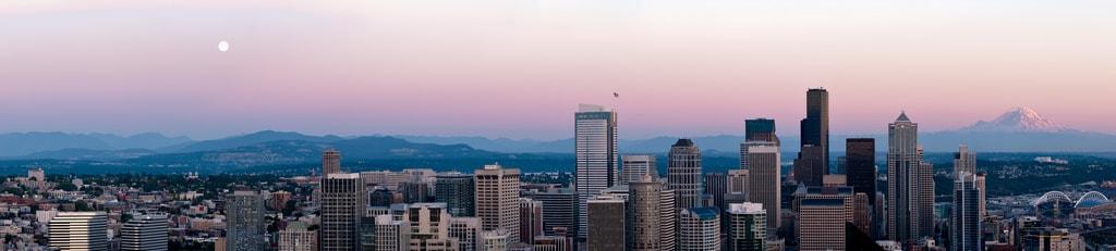 Seattle at Sunset | © Jon / Flickr