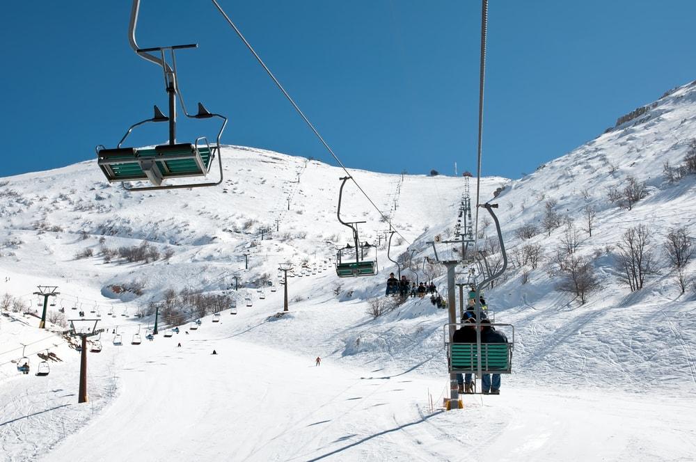 Skiing on Mount Hermon, Israel   ©makarenko7/Shutterstock