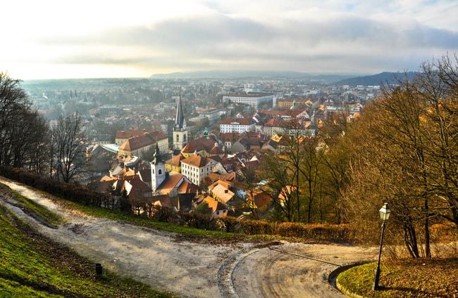 Ljubljana skyline from the hill, Slovenia | © Donatas Dabravolskas/Shutterstock