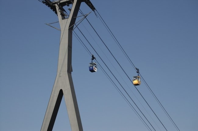 Cologne Cable Car Crossing   © city100/Shutterstock