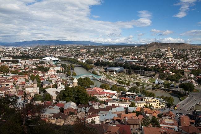Panoramic views of Tibilisi | © Chromatic Studio/Shutterstock