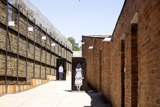 Entrance to the Apartheid museum   © Dendenal/Shutterstock