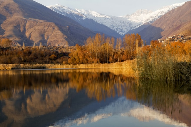Lake Alamut Region, Iran   © umut rosa/Shutterstock