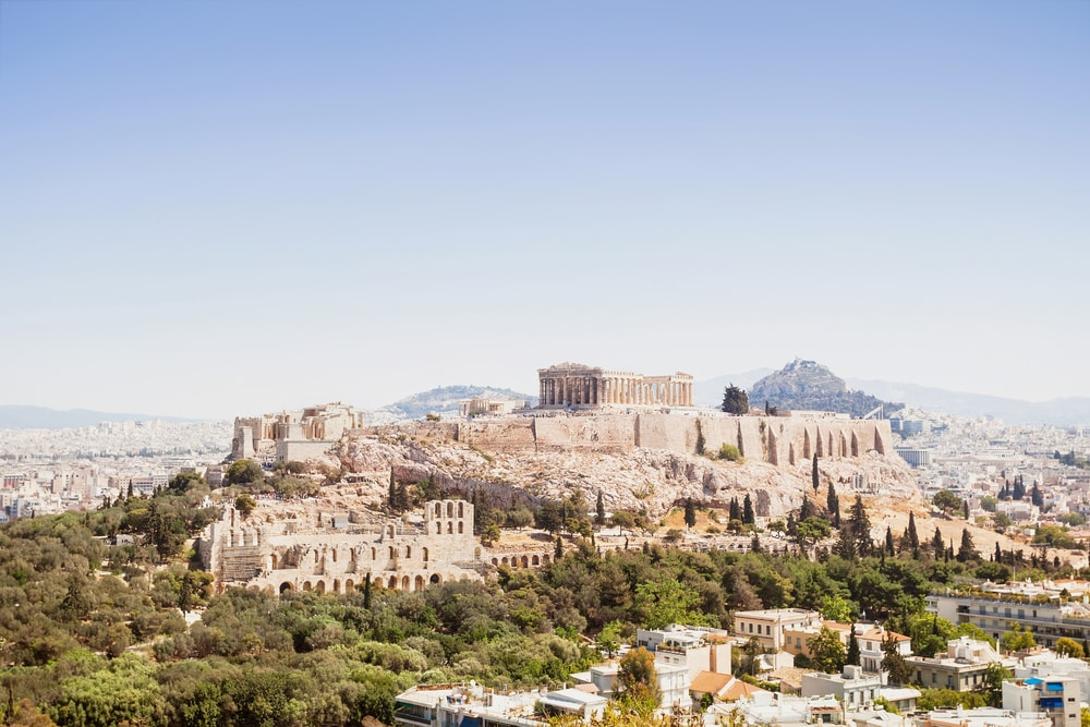 View of Acropolis and the city of Athens, Greece | © Kite_rin/Shutterstock