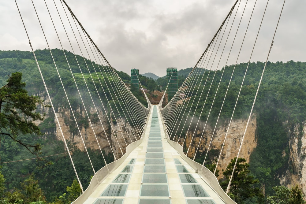 The world's tallest glass bottomed bridge | © Anges van der Logt / Shutterstock