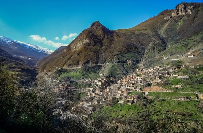 Mountain village of Masuleh, Iran   © aaabbbccc/Shutterstock