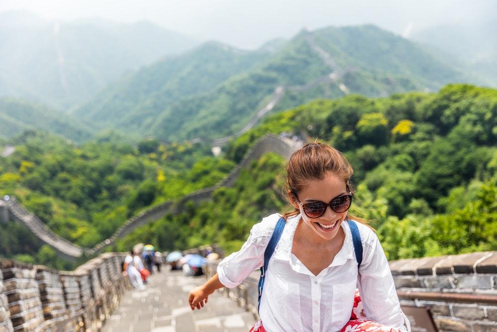 All smiles on the Great Wall | © Maridav/Shutterstock
