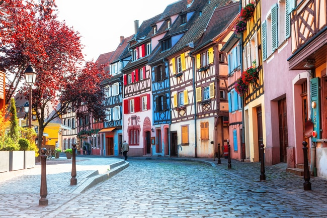 These Are The Most Colourful Streets In Europe