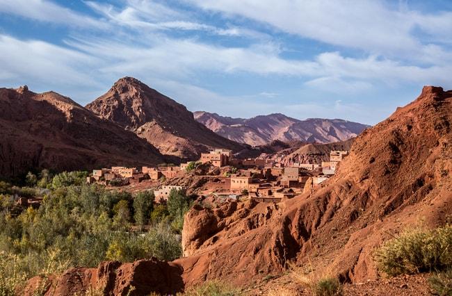 Village in the Atlas mountains, Morrocco   © Ermakova Nadezhda/Shutterstock