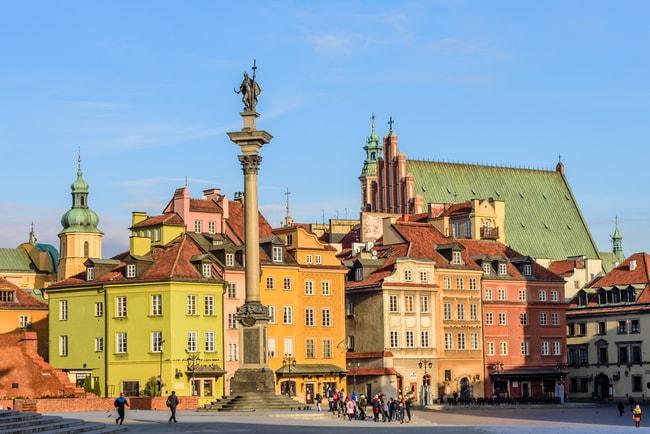 Castle square in Warsaw | © RAndrei/Shutterstock