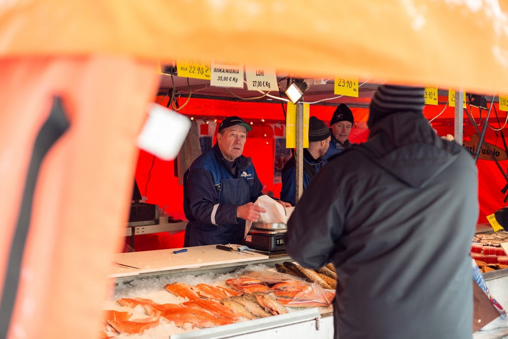 Local Fishmonger in Helsinki, Finland | © The Art of Pics/Shutterstock