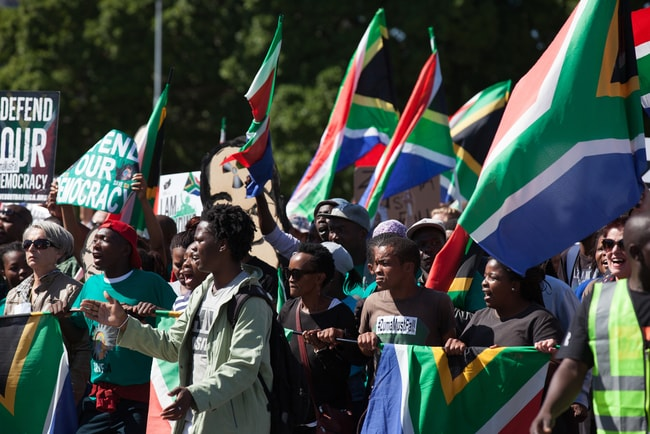 South Africans defending their values | © Aqua Images/Shutterstock