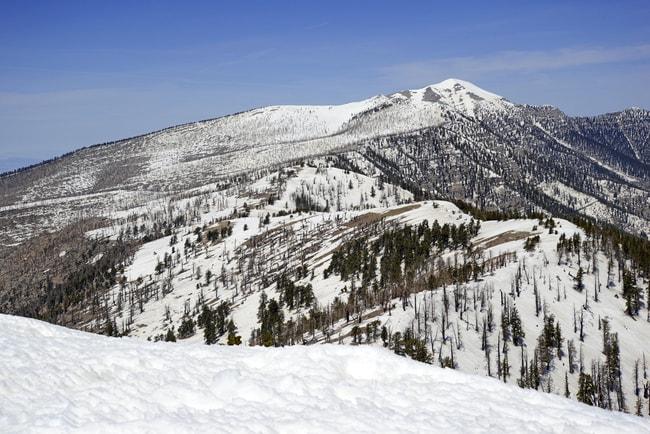 Snow covered terrain in the Mount Charleston region | © By robert cicchetti/Shutterstock