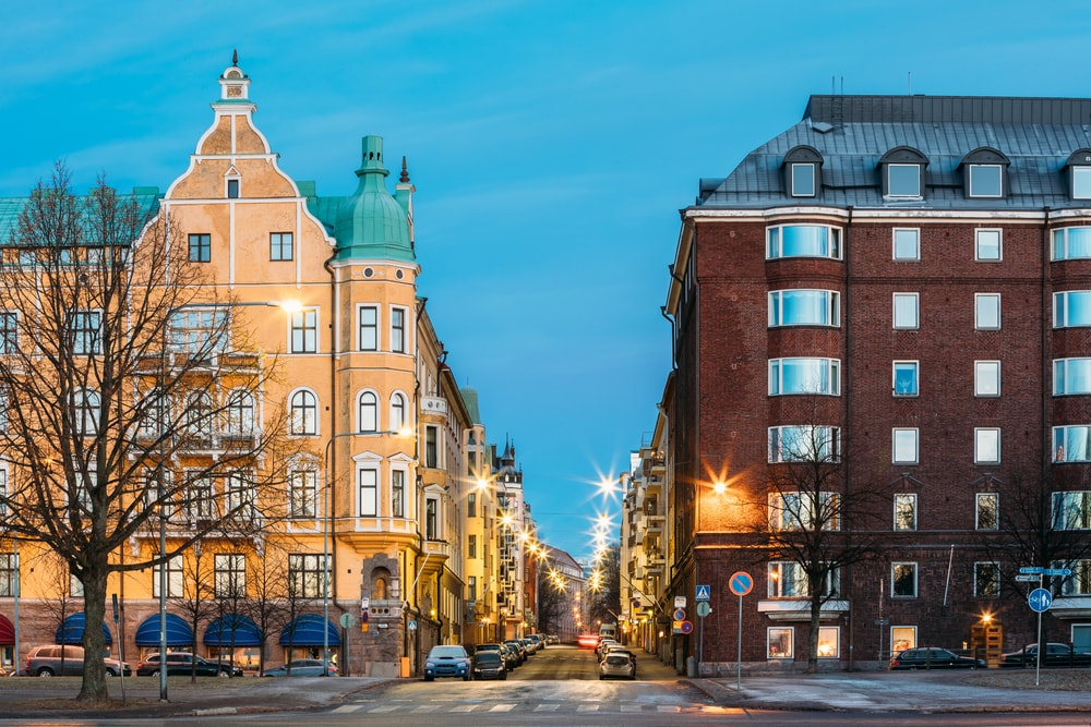 Residential blocks in Helsinki, Finland | © Grisha Bruev/Shutterstock