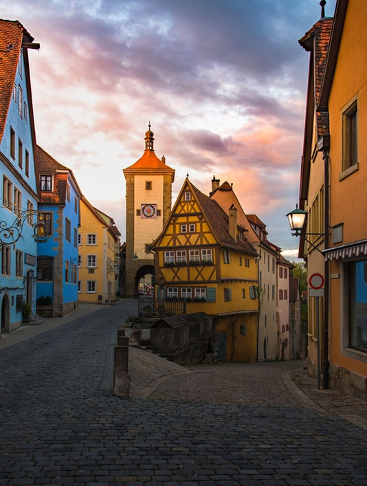 German traditional house in Rothenberg | © Sky Sajjaphot/Shutterstock