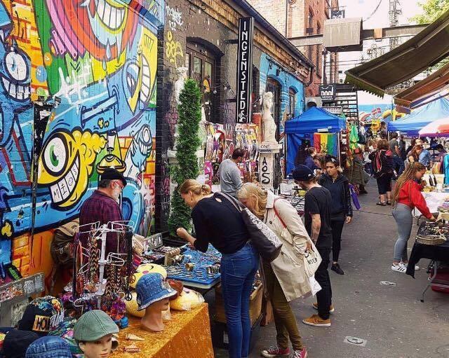 Søndagsmarkedet på Blå, Courtesy of Blå