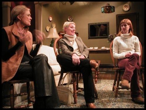 Gloria Steinem, Winter Miller, Amanda Siegfried, The Penetration Play | © wintermiller.com
