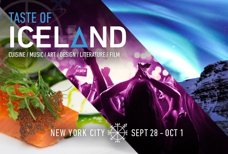 Taste of Iceland, NYC | © Iceland Naturally