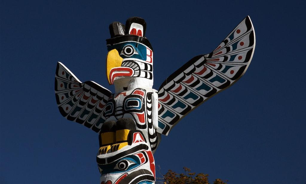 Totem Pole Carving Granville Island
