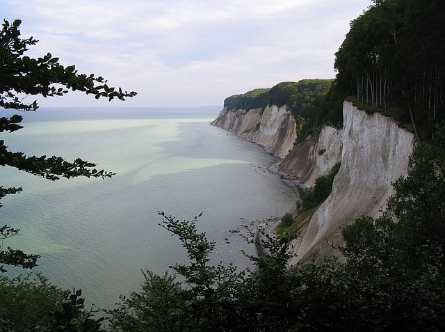 White Cliffs in Jasmund National Park | © micpicee/pixabay