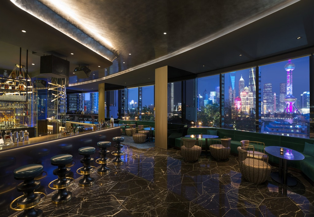 New W Shanghai Hotel Sets The Bund Alight