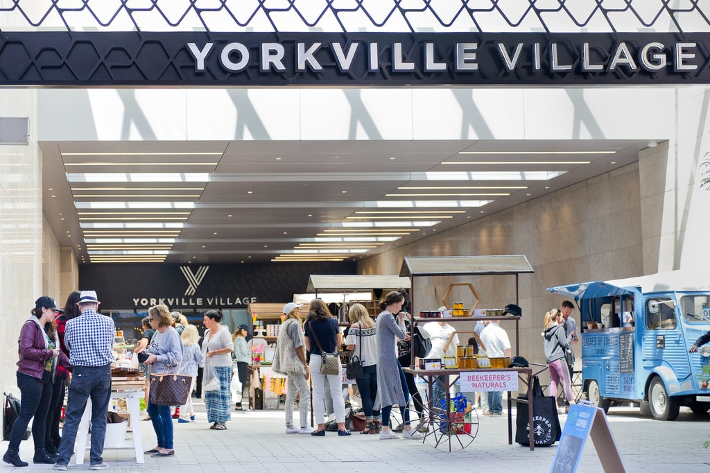 Yorkville Summer Market | Courtesy of Yorkville Village