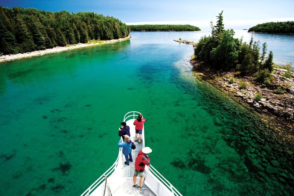 Fathom Five National Marine Park   © OTMPC