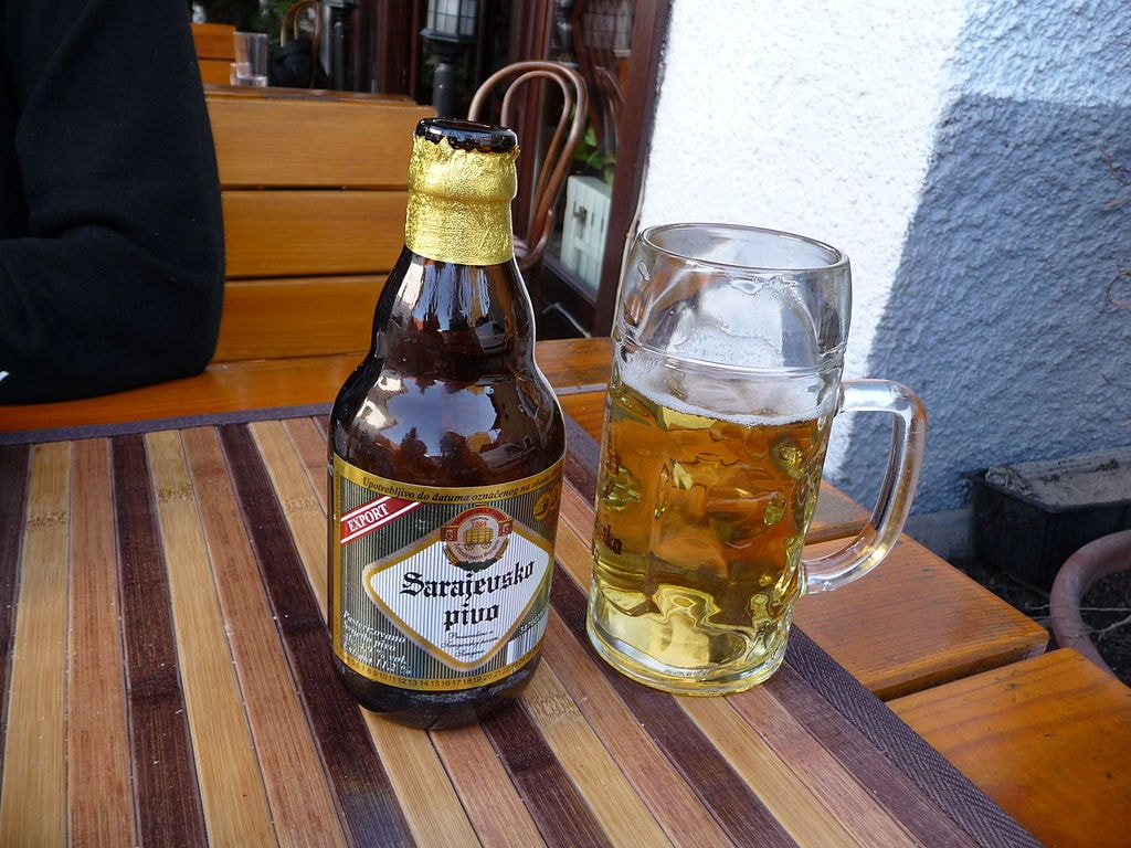 Quite a few Bosnians like to drink!   © Rotsee/WikiCommons