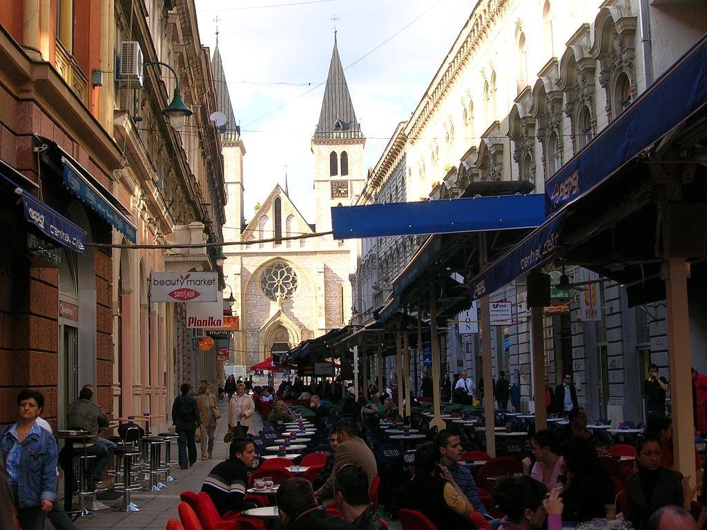 Strosmajerova Street Sarajevo | © Smooth_O/WikiCommons