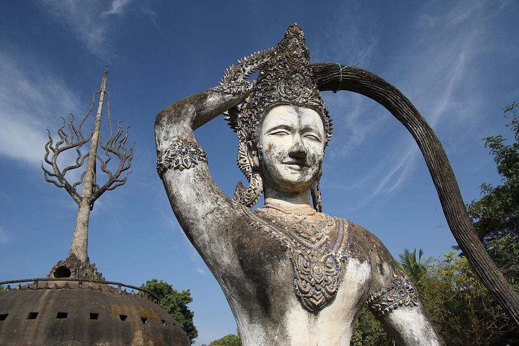 Xieng Khuan, Vientiane, Laos | © Yeowatzup/WikiCommons