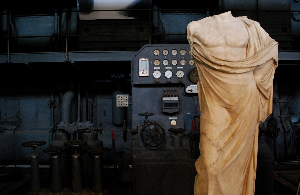 A little off the beaten track, Centrale Montemartini is overlooked by most tourists | © Evelyn Hill/Flickr