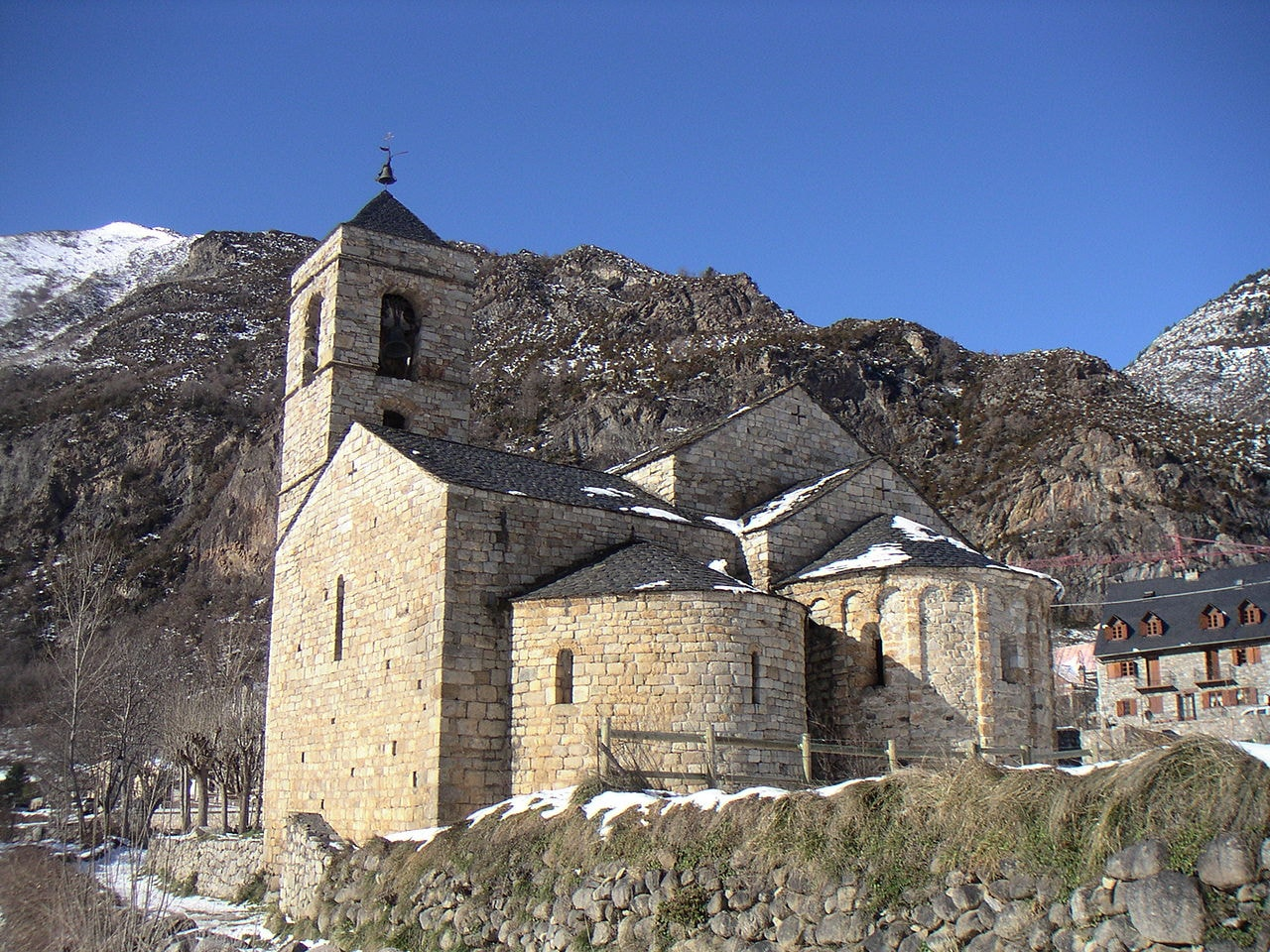 Church in Barruera, Spain | C0O / Wikimedia Commons